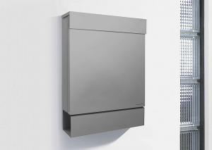 Radius design cologne Schránka na listy RADIUS DESIGN (LETTERMANN M silver  762C) strieborná