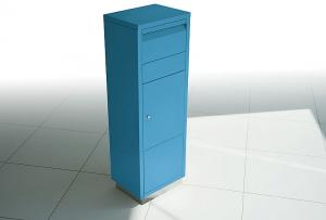 Radius design cologne Schránka na listy RADIUS DESIGN (LETTERMANN standing ovation blue 601N) modrá