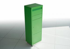 Radius design cologne Schránka na listy RADIUS DESIGN (LETTERMANN standing ovation green 601B) zelená