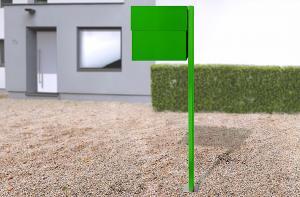 Radius design cologne Schránka na listy RADIUS DESIGN (LETTERMANN XXL 2 green 568B) zelená