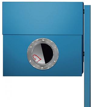 Radius design cologne Schránka na listy RADIUS DESIGN (LETTERMANN XXL blue 567N) modrá