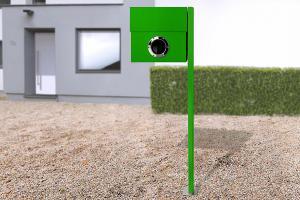 Radius design cologne Schránka na listy RADIUS DESIGN (LETTERMANN XXL green 567B) zelená