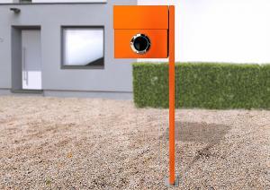 Radius design cologne Schránka na listy RADIUS DESIGN (LETTERMANN XXL orange 567A) oranžová