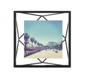 Rámeček na fotografii 10x10 cm Umbra PRISMA - černý