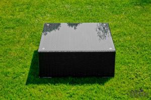Ratanový nábytok SM.001.001 - stolik čierny