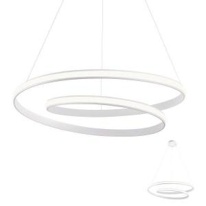 Redo 01-1795 TORSION SU LED 40W D750 interiérové závesné svietidlo 3000K matná biela 3360lm