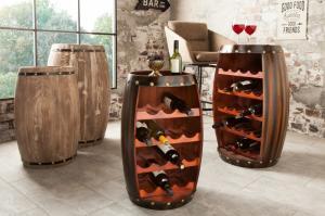 Regál na víno Chateau 64 cm coffee »