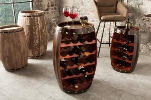 Regál na víno Chateau 80 cm coffee »