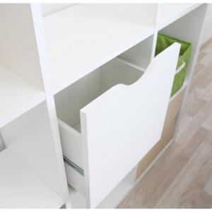 Regál TOFI BOX NEW biela Tempo Kondela