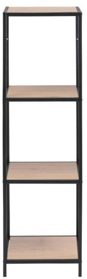 Regál v dekore divokého duba Actona Seaford, 35 x 119,5 cm