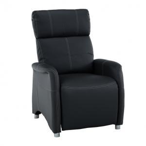Relaxačné kreslo Francesco CH-113100 koža PU čierna