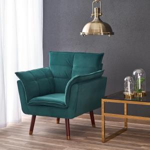 Relaxační křeslo Zefo tmavě zelené