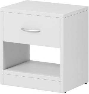 RENAR Naka 1S nočný stolík biela