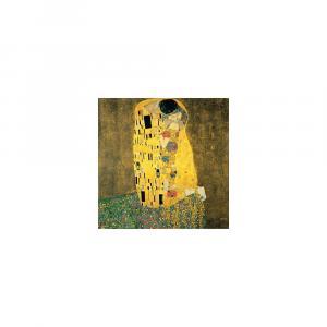 Reprodukcia obrazu Gustav Klimt The Kiss, 90 × 90 cm
