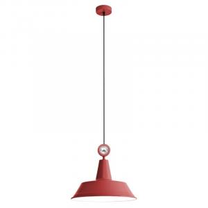 Retro a vintage svietidlo REDO FACTORY červená   01-973