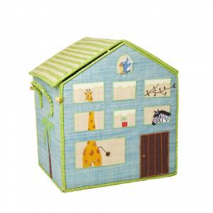 rice Detský úložný box Jungle House Velký (zelená)