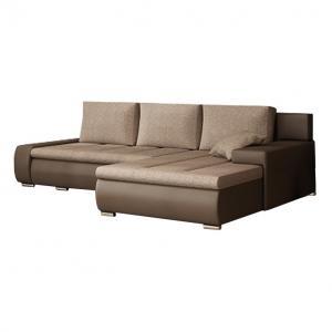 Rohová sedačka Gisoil (hnedá)