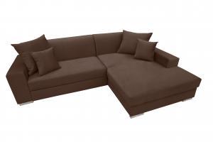 Rohová sedačka - Montura (hnedá) (P). Akcia -29%