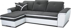 Rohová sedačka - Po-Sed - Estevan L+2F (sivá + biela) (L). Akcia -12%. Doprava ZDARMA. Sme autorizovaný predajca Po-Sed.