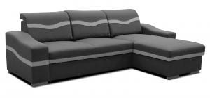 Rohová sedačka - Po-Sed - Havana 2F+L (sivá) (P). Akcia -19% Sme autorizovaný predajca Po-Sed.