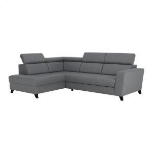 Rohová sedačka Sardan (sivá) (L)