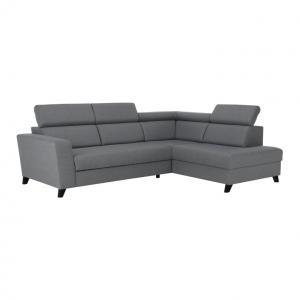 Rohová sedačka Sardan (sivá) (P)