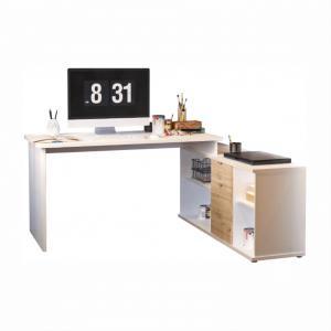 Rohový PC stolík - Tempo Kondela - Dalton VE 02 (dub wotan). Sme autorizovaný predajca Tempo-Kondela.