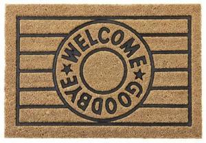 Rohožka Welcome & Goodbye, 40/60cm
