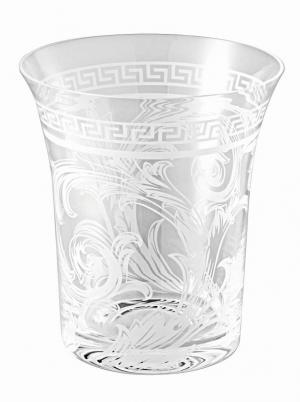 Rosenthal Versace Crystal Arabesque váza, 18 cm