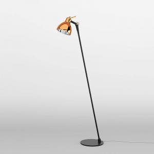Rotaliana Rotaliana Luxy F0 Glam stojacia lampa čierna/meď