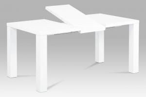 Rozkladací jedálenský stôl AT-3009 WT biely Autronic