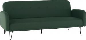 Rozkladacia pohovka, zelená , PULSA
