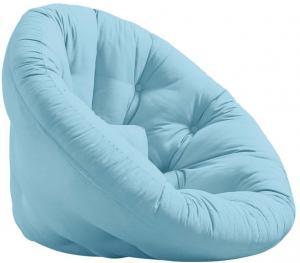 Rozkladacie kresielko Karup Design Nest Light Blue