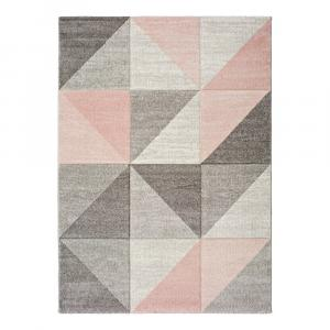 Ružovo-sivý koberec Universal Retudo Naia, 160×230 cm