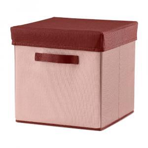 Ružový úložný box Flexa Room