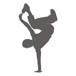 Šablóna na maľovanie Breakdance PXD08
