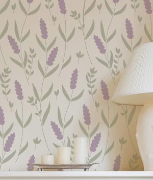 Šablóna na maľovanie Levanduľa - Lavender ST236