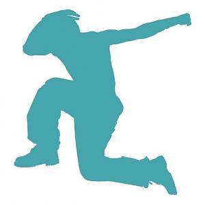 Šablóna na maľovanie Tanec Breakdance PXD11