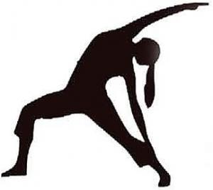 Šablóna na stenu gymnastika sx07