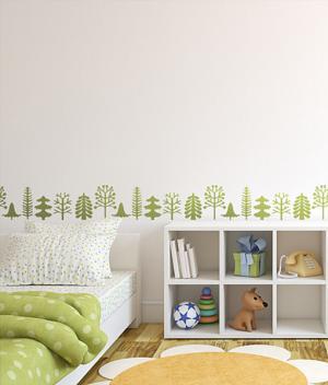Šablóna Nordic Trees ST073