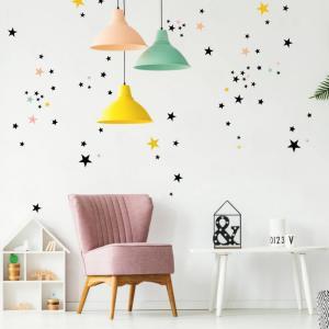 Šablóny na maľovanie - Hviezdičky nepravidelné