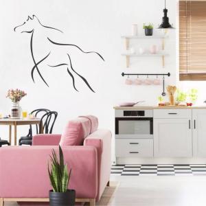 Šablóny na maľovanie - Žrebec