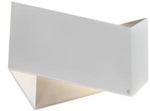 Sada 2 dizajnových nástenných svietidiel biela - skladacia