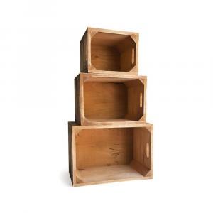Sada 3 drevených boxov Really Nice Things 1945