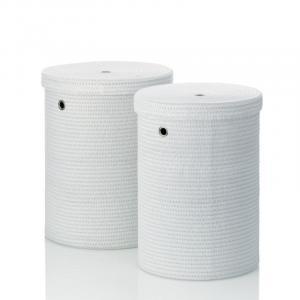 Sada prádelních košů RIMOSSA PP plastic, bílá KELA KL-22980