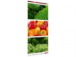 Samolepiaca fólia na dvere Farebná zelenina 95x205cm ND4787A_1GV