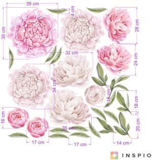 Samolepiace tapety kvetov - Pivonky