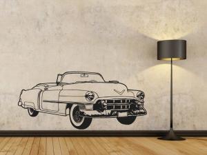 Samolepka na zeď Auto 004
