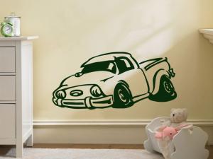 Samolepka na zeď Auto 020