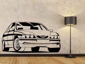 Samolepka na zeď Auto 023